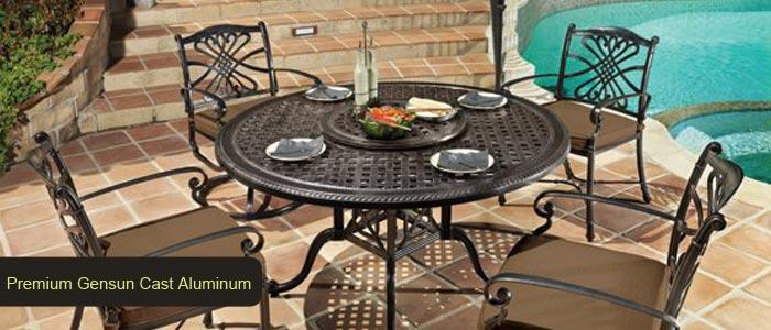 Premium Gensun Cast Aluminum